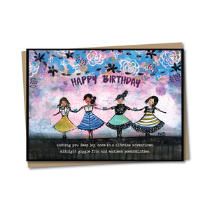 5x7 Birthday Wishes Notecard