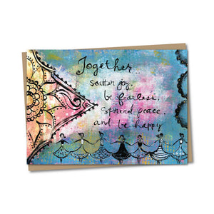 5x7 Together Notecard