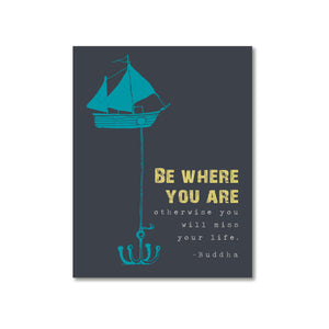 Be Where You Are Magnet