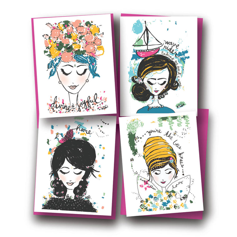 Beauty Within Assorted Notecard Set