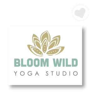 Logo + Branding Design for holistic practitioners, yoga teachers, nutritionists, coaches and therapists