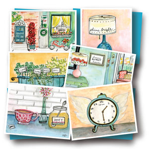 Everyday Joy Assorted Notecard Set of 6