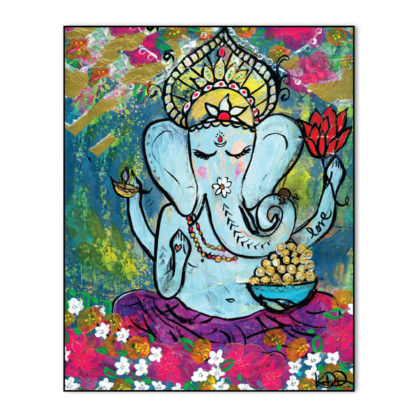 Ganesh Love Art Print