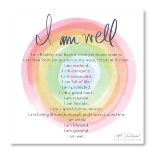 I AM WELL - free printable