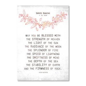 Irish Life Blessings Customizable Print