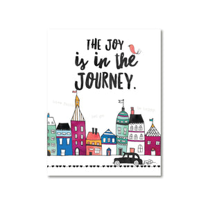 Little City Joy in the Journey Magnet