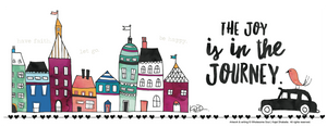 Little City Joy is in the Journey Mug