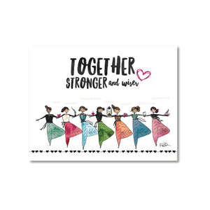 Yogini Together Magnet