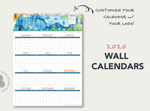 Love Abstract - 2020 Wall Calendar
