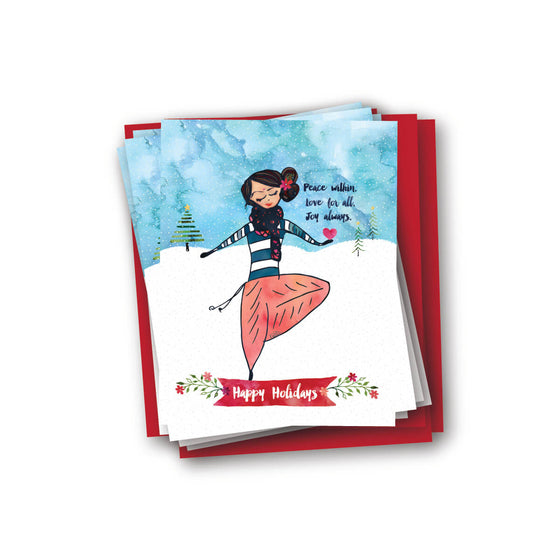 Peace Within Holiday Notecard Set