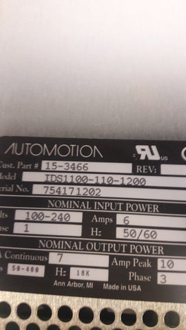 AUTOMOTION POWER SUPPLY