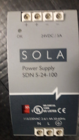 Sola power supply