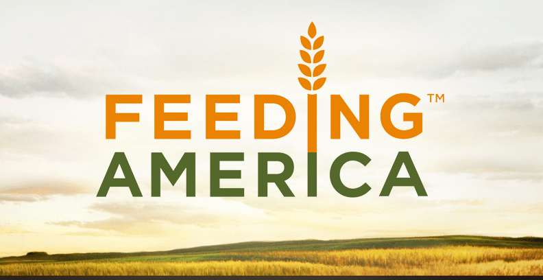 Feeding America added as fourth charity we sponsor monthly!
