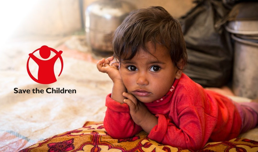 Save the Children added as the third charity we support every month.