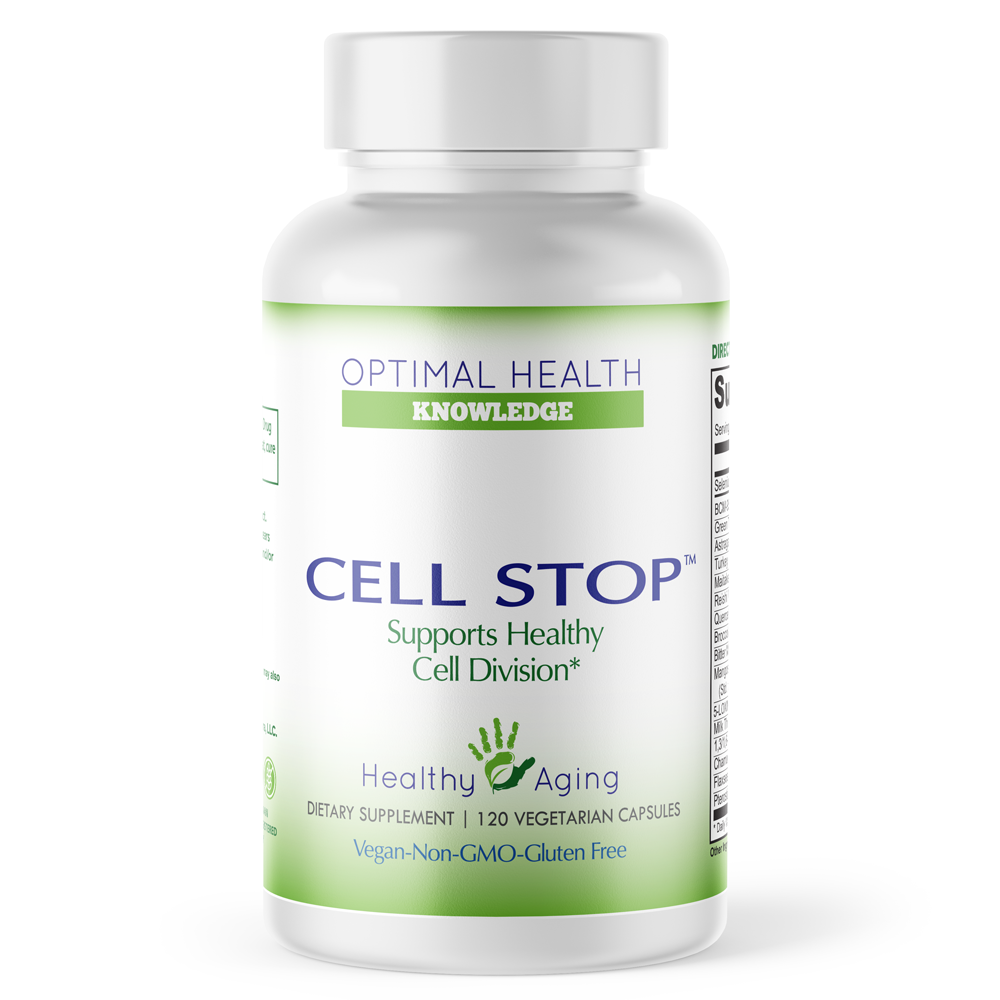 Cell Stop -120 caps - Optimal Health Knowledge