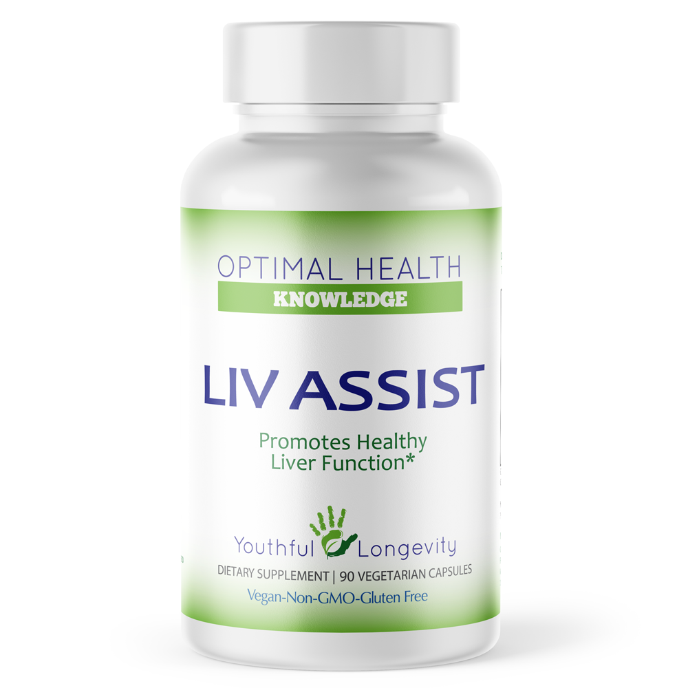 Liv Assist - 90 caps - Optimal Health Knowledge