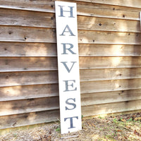 Harvest wood sign; fall decor; porch sign