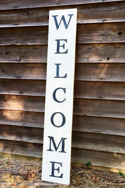 Welcome Sign; Porch Decor 12x60