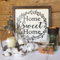 Home Sweet Home Sign ONLY