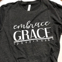 Embrace Grace Heather Black size Medium