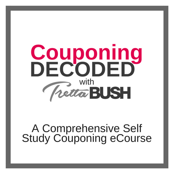 Couponing Decoded: A Comprehensive Self Study Couponing eCourse