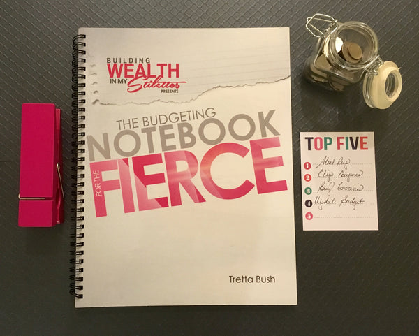 The Budgeting Notebook for the Fierce (20% OFF)