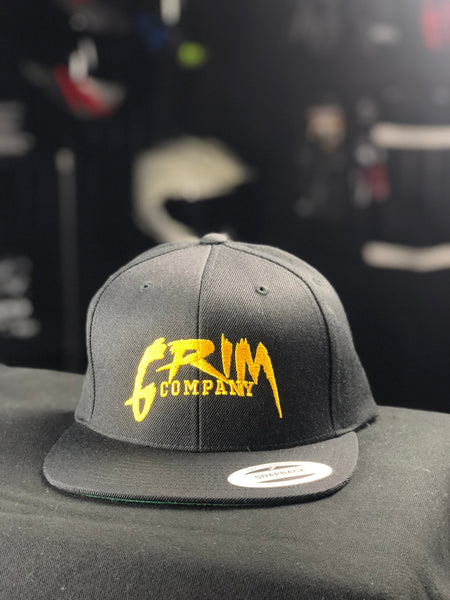 Grim Company SnapBack - Gold on Black