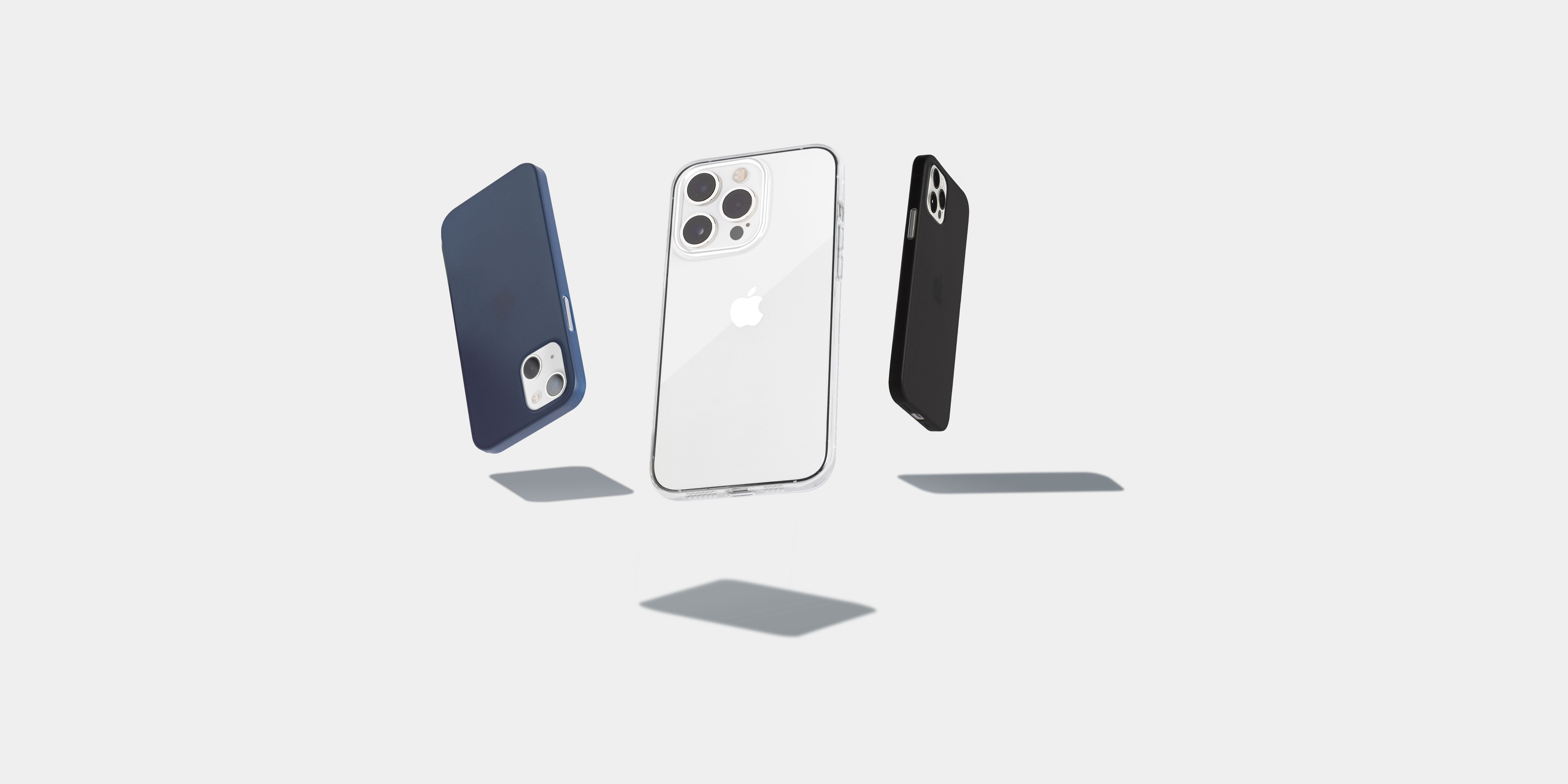 iPhone 13 with totallee matte cases
