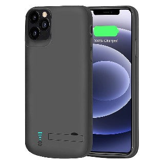 An iPhone case with charging capabilities