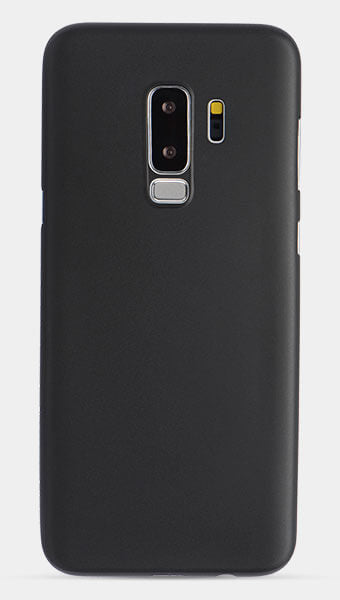 thin black galaxy s9 plus case