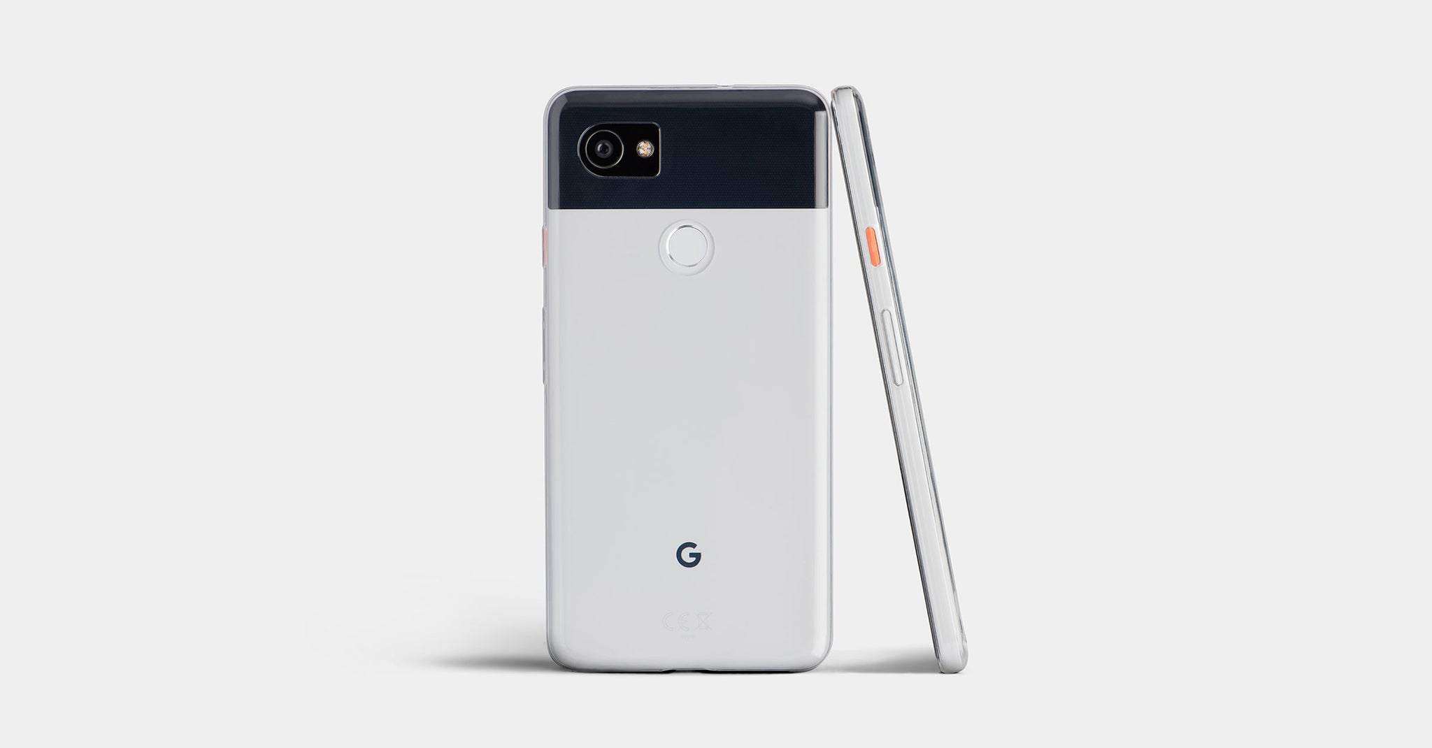 Thin Clear Pixel 2 and 2 XL Case by Totallee