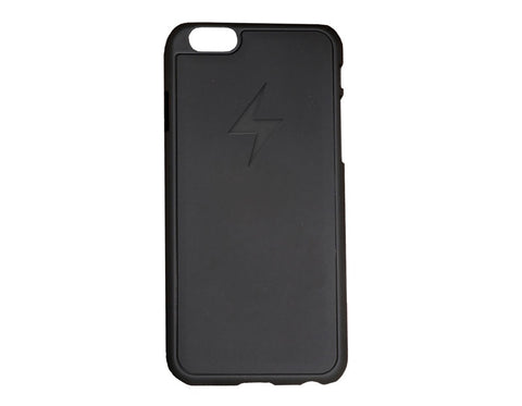 An iPhone 6 case with charging capabilities
