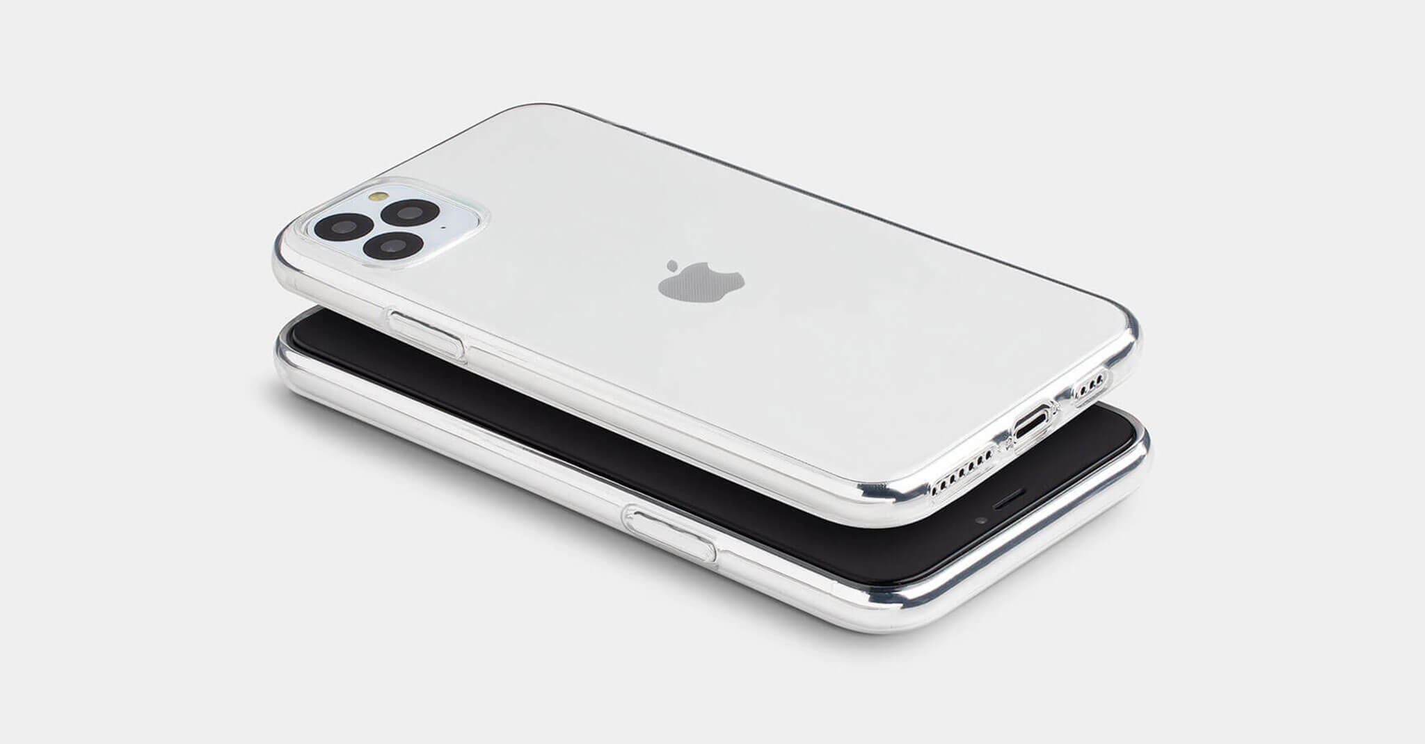 Minimal Glossy Clear iPhone Case