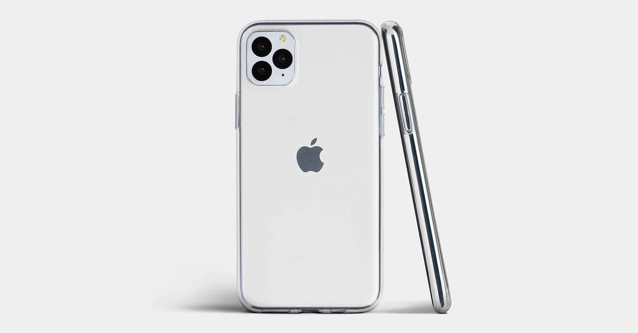 Ultra slim clear iPhone case