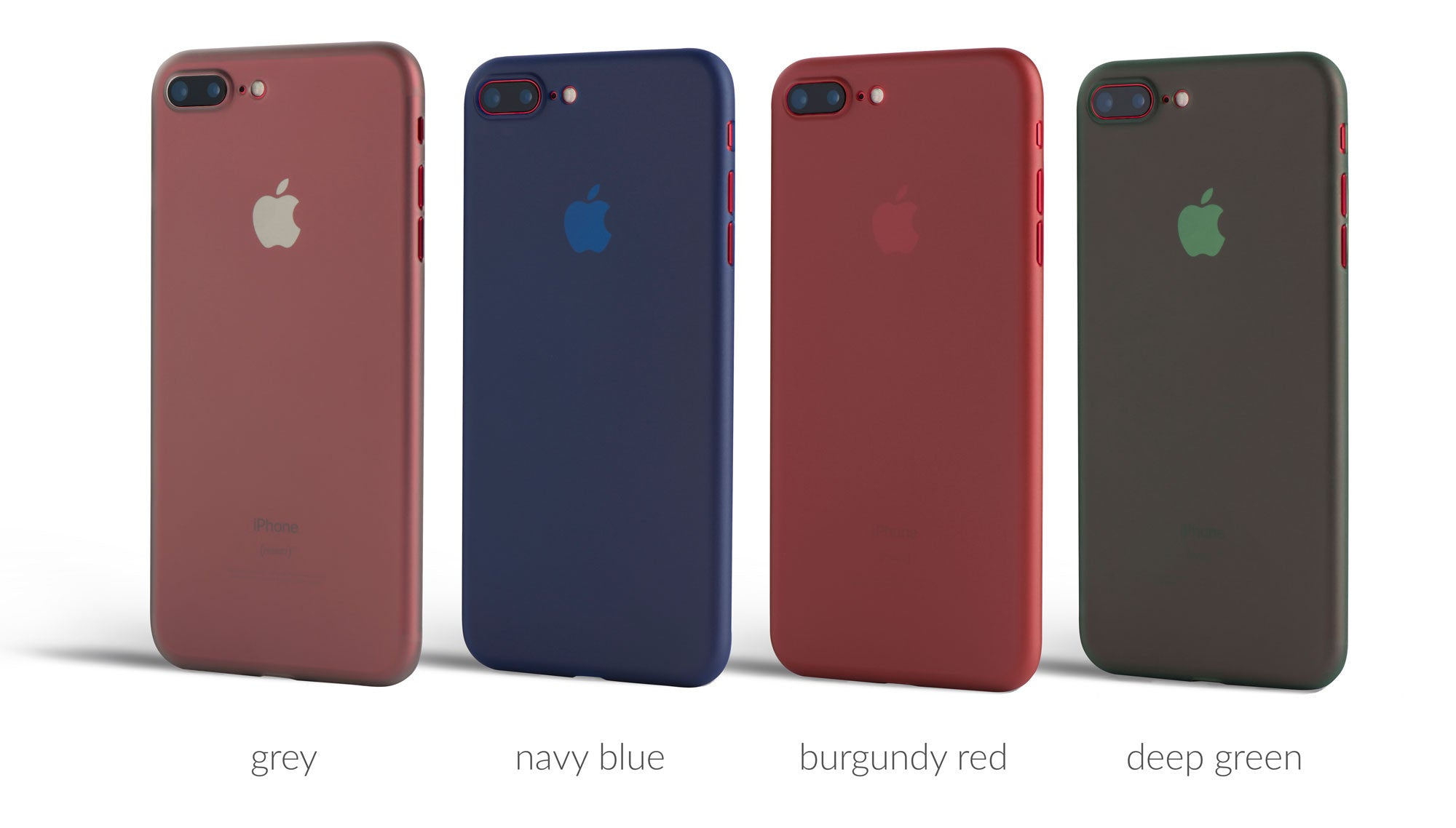 the scarf cases on red iPhone 7 Pluses