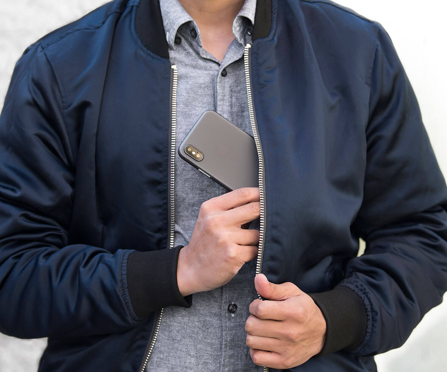 thin, cool, stylish iPhone X case