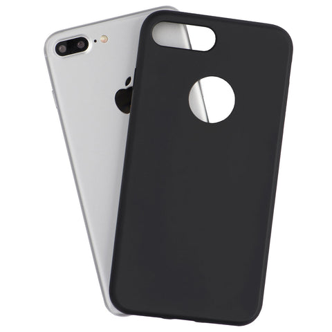 A durable matte black iPhone 7 Plus case