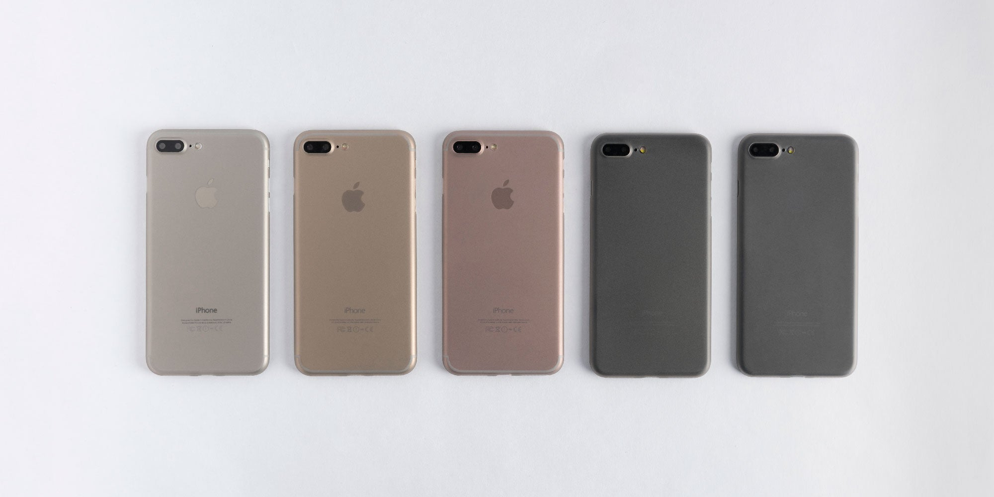 How Totallee Cases Look On Different Iphones