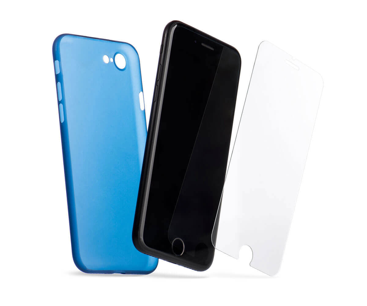 our screen protector is compatible with all our iPhone cases.