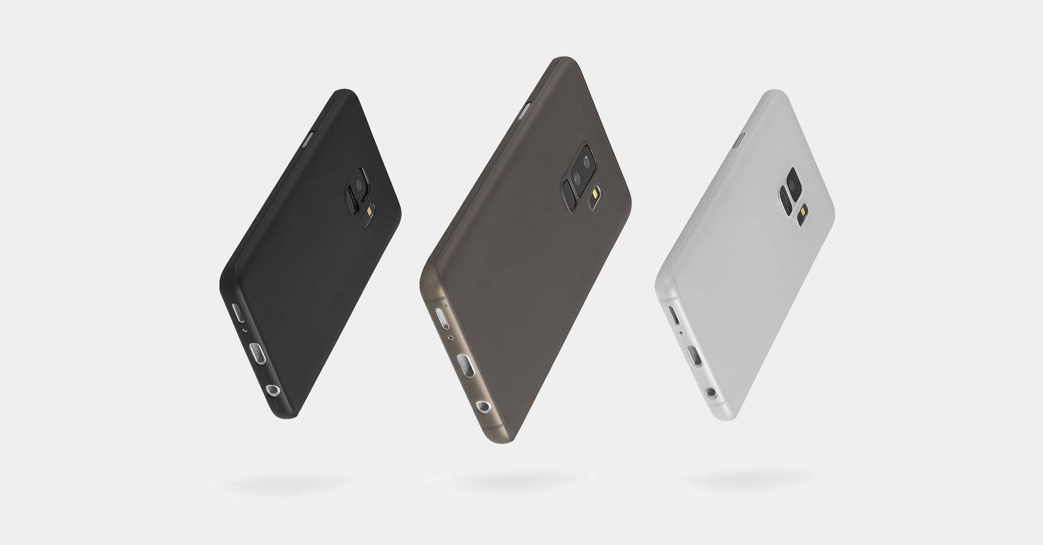 ultra thin Samsung Galaxy S9 and S9 Plus cases by totallee
