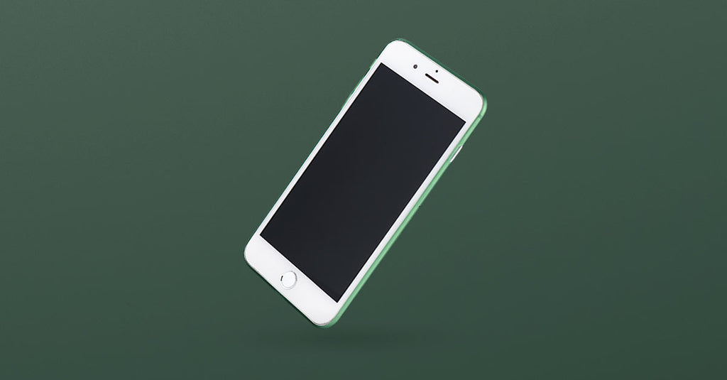 Thin iPhone 7 plus case green