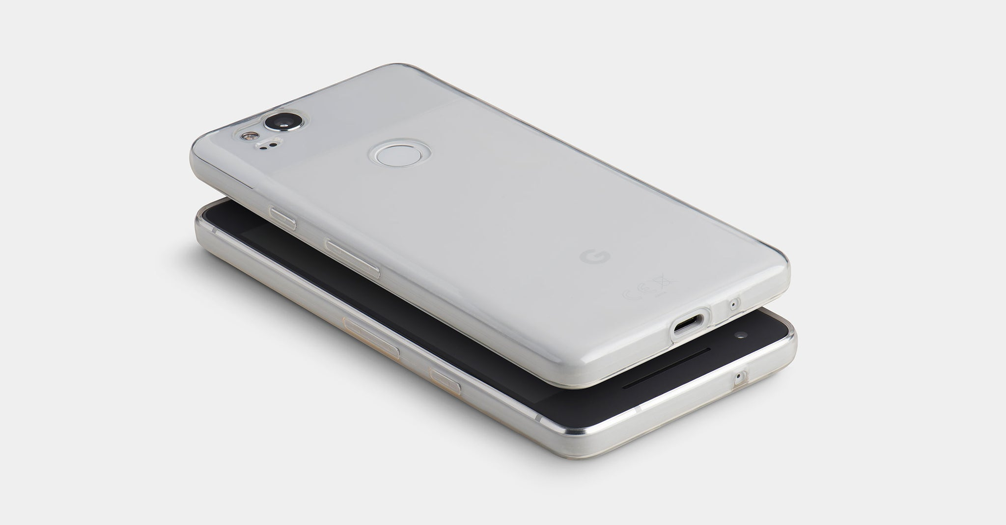 Minimal Clear case for Pixel 2 and Pixel 2 XL