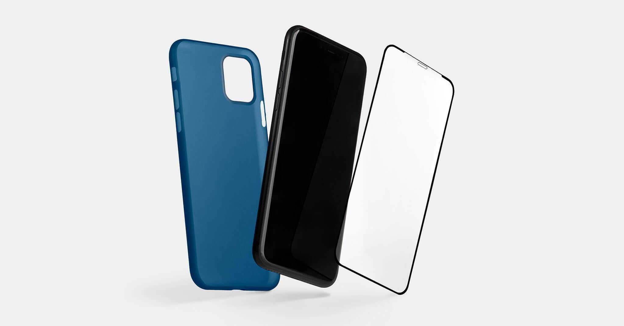 totallee cases with screen protector for iPhone 11