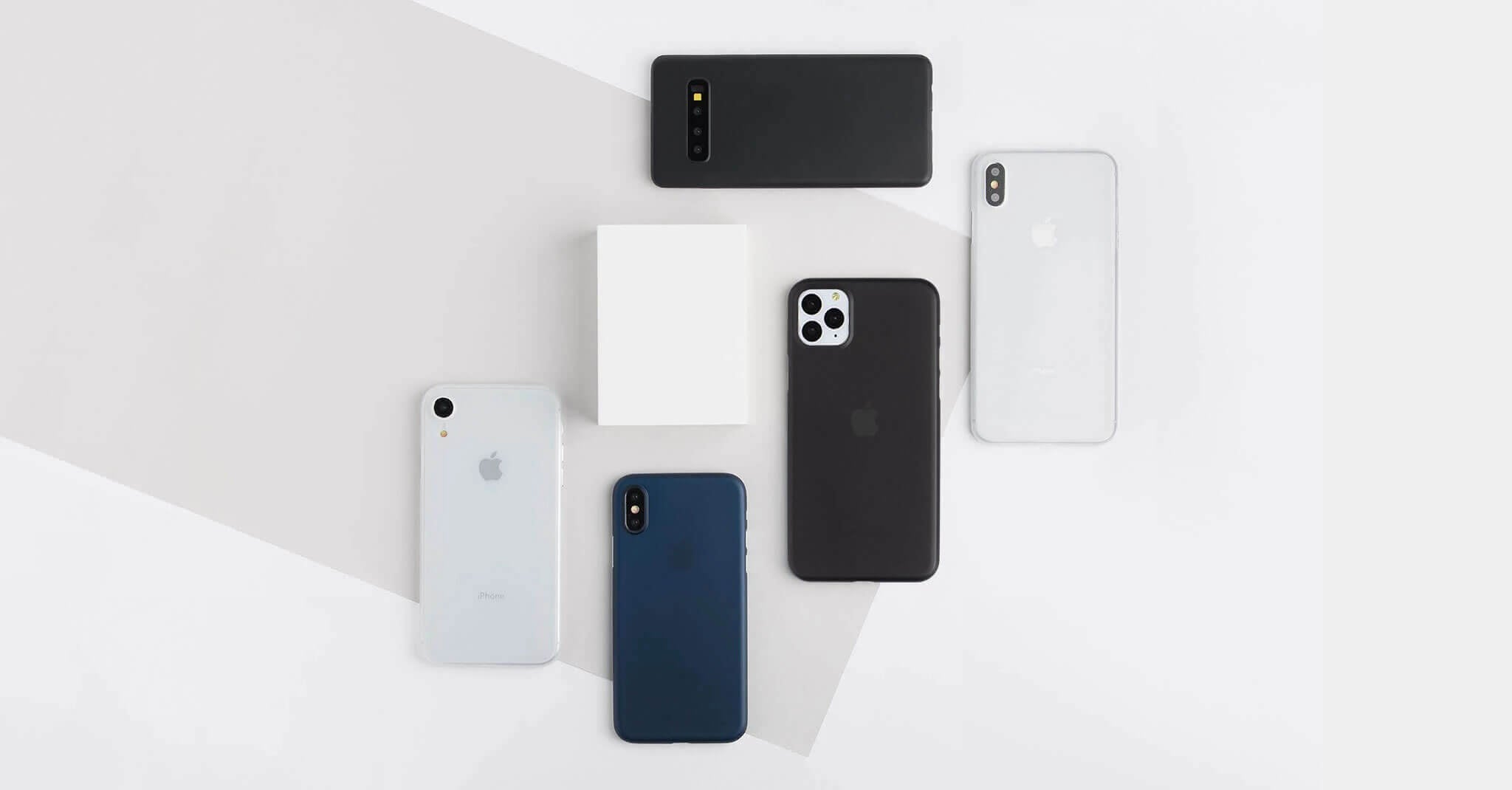 matte totallee cases for iPhone, Pixel, and Galaxy