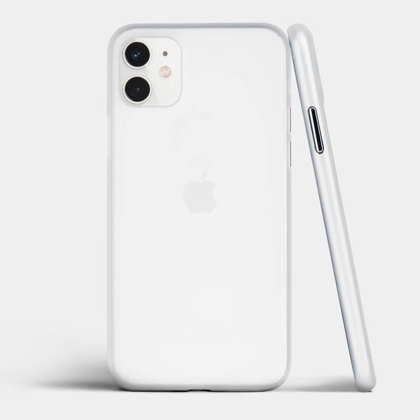 Ultra thin iPhone 11 case by totallee, Frosted clear