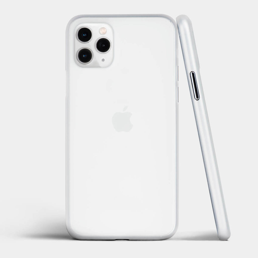 Ultra thin iPhone 11 Pro case by totallee, Frosted clear