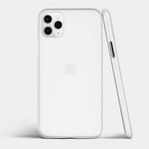 Ultra thin iPhone 11 Pro Max case by totallee, Frosted clear
