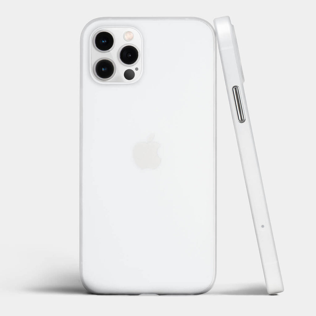 Ultra thin iPhone 12 Pro case by totallee, Frosted clear