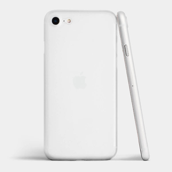 Ultra thin iPhone SE case by totallee, Frosted clear