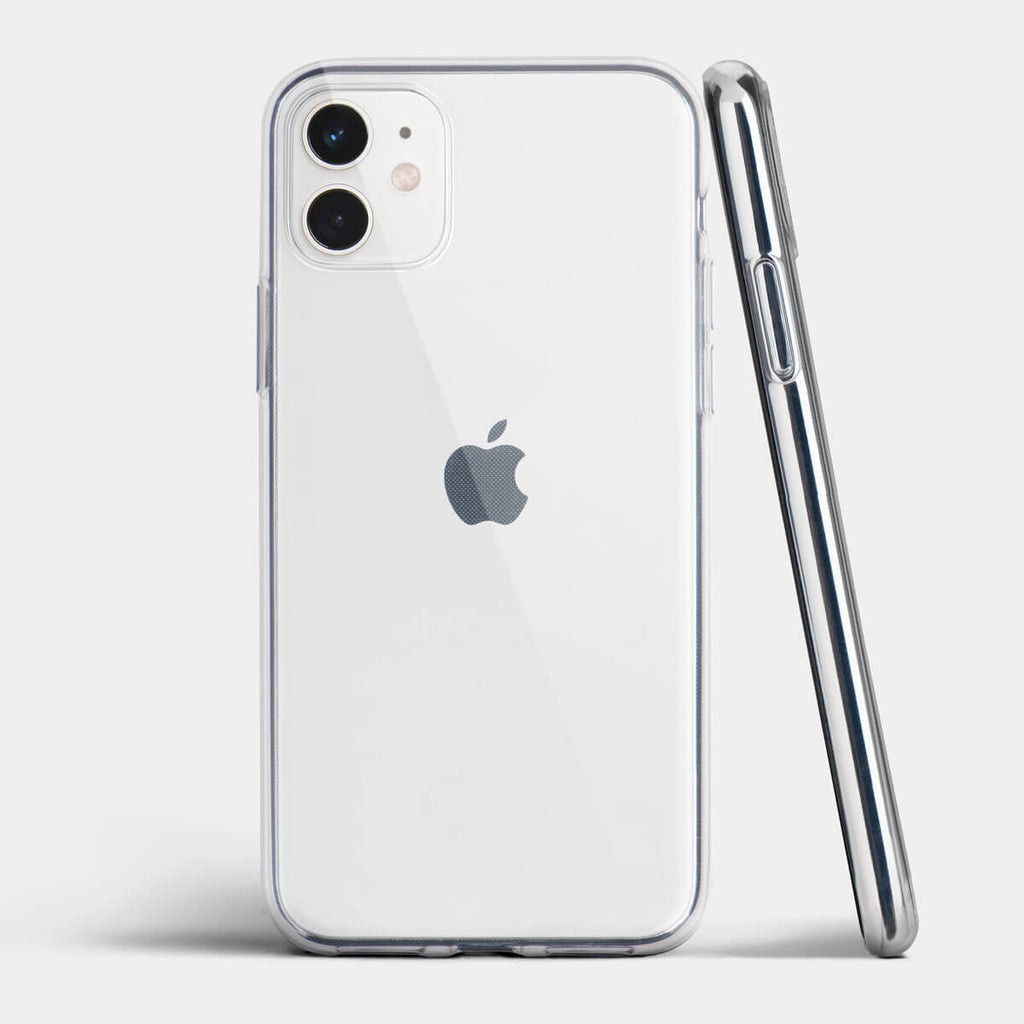 Ultra thin iPhone 11 case by totallee, Clear (Soft)